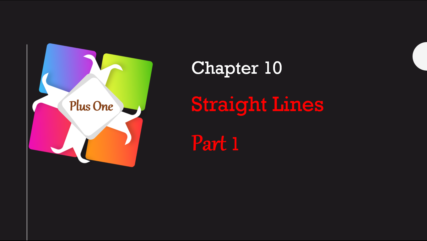 Straight Lines class 11 Chapter 10
