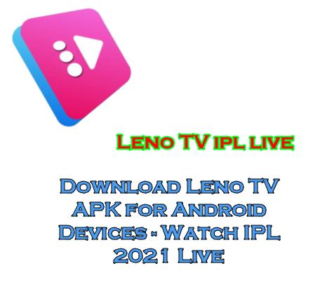 Leno TV ipl live
